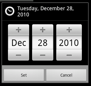 DatePicker Android